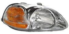 96 97 98 Civic Right Passenger Headlight Headlamp Lamp Light