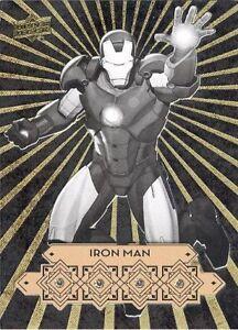 2016 Upper Deck Marvel Gems Diamond Mine Guys DMG-1 Iron Man 1/1? Quad Diamond!