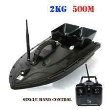 500M Wireless RC Fishing Bait Boat With 2 Motors Fish Finder Single Hand Control