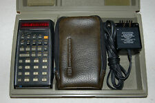 Hewlett Packard HP-45 scientific calculator texas instrument TI sharp casio