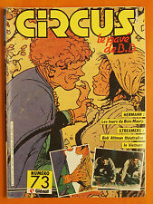 CIRCUS N° 73 du 04/1984-Hermann-Les Tours du Bois-Maury-Streamers-Bob Altman