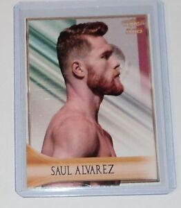 Saul Canelo Alvarez 2019 4LUVofBOXING Eiltes Boxing card new GGG