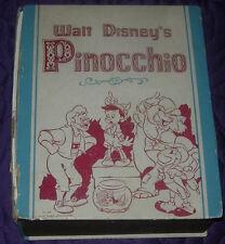 WALT DISNEY'S  PINOCCHIO  CASTILE SOAP FIGURES  BOXED  1939  5 PIECES