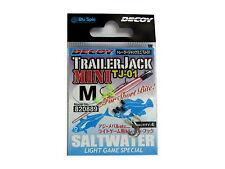 NEW Decoy TrailerJack Mini Hook TJ-01 SALTWATER LIGHT GAME SPECIAL Size M  JAPAN