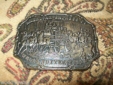 American Express Co Wells Butterfield Belt Buckle nos Free USA ship Western