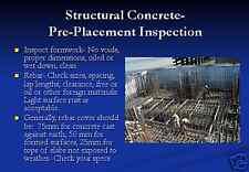 Rebar Concrete BUILDING CONSTRUCTION PowerPoint Presentation on CD