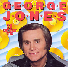"GEORGE JONES, CD ""20 GREATEST HITS"" NEW SEALED"