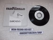 """7"""" Pop Trio FarFarello - Durchzug ARIOLA Promo / Lothar Meid"""