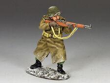 King and Country FANTERIA SUPPORTO IN PIEDI Tiro Fucile WW2 BBA62 BBA062