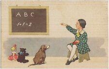 BAMBINA A SCUOLA CON ANIMALI 1951