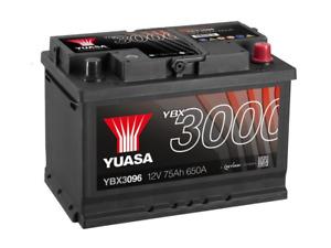 Yuasa Battery YBX3096 12V 76Ah 680A 067 096 EA770 EB740 TYPE