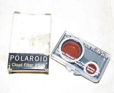 POLAROID #516 For Color Pack Land Camera Lens Cloud Filter J539