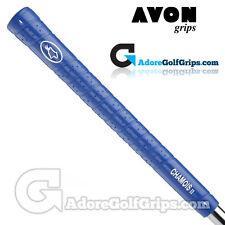 Avon Chamois II Jumbo Golf Grips - Blue x 9
