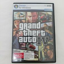 GTA 4 Grand Theft Auto IV Windows PC - 2x Discs Complete with map