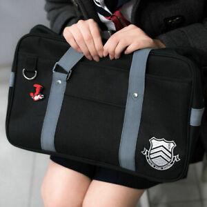 Persona 5 P5 Shujin Gakuen Real High School Bag Anime Uniform Shoulder Bags US