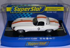 SUPERSLOT H3890 JAGUAR E-TYPE #9 BATHURST 1965 BOB JANE SCALEXTRIC RU MB