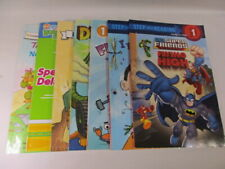 7 Level 1 Books  I Can Read - Passport - Scholastic - Step into Reading MIX