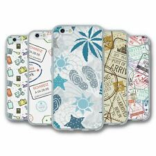 Para iPhone 6 6S Silicona Funda Cubierta Travel Collection 4