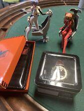 evangelion rei asuka figures watch packet book lot