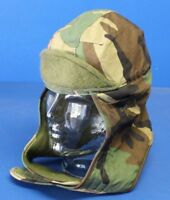 US Army Issue Cold Weather Woodland Camouflage M1 Liner Cap