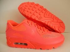 MENS NIKE AIR MAX 90 HYP HYPERFUSE PREMIUM iD SOLAR RED SZ 7.5 [653603-992]
