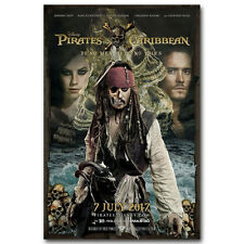 Pirates of the Caribbean Dead Men Tell No Tales Movie Art Silk Poster 12x18 inch