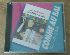 CD JO COURTIN - Comme au Bal Vol. 1  - City 107 - Sealed