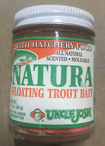 UNCLE JOSH Natura 'Rainbow' Cheese Scented Floating Trout Bait