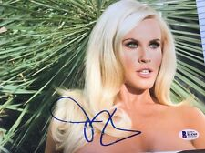 Jenny McCarthy Auto 8x10 Color Photo  Playboy The View BCOA