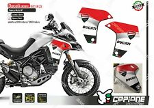 Adesivi  DUCATI MULTISTRADA Enduro 1260/1200 carene laterali logo corse EN 22