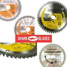 Shark Blades TCT Circular Wood Saw Blades 160mm to 210mm