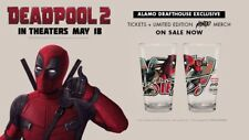 Deadpool 2 Mondo Alamo Drafthouse Exclusive Pint Glass IN HAND!!!