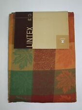 "Lintex 100% Cotton Tablecloth ~ Harvest Festival ~ 70"" Round *NEW*"