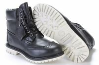 """TIMBERLAND WOMANS BROGUE 6"""" INCH PREMIUM BLACK WATERPROOF BOOTS A1G75 ALL SIZES"""
