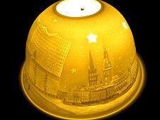 luz mágica, Velas de té Cúpulas Luces STARLIGHT Soporte HAMBURG en invierno 4080