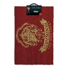 Harry Potter Hogwarts 60cm X 40cm Coir Doormat With UK