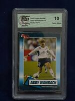 2004 Rookie Review Abby Wambach #100 True Rookie Card Graded Gem Mint 10!! 🔥👀