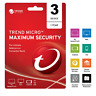 Trend Micro Maximum Security 2020 - 2021 1 Year 3 Devices Instant Delivery
