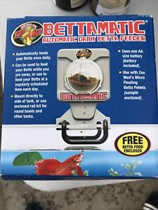 Zoo Med BettaMatic Automatic Daily Betta Feeder. Batteries Included.