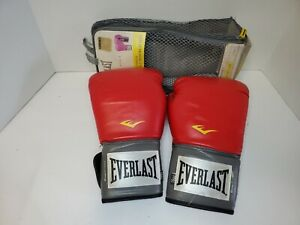 Everlast 2116 Pro Style Training Gloves Red 16 oz