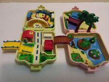 2-POKEMON 1997 Tomy Polly Pocket Playset Nintendo Pokémon Mini Micro