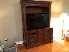 entertainment center wall unit used