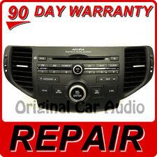 REPAIR 09 10 11 Acura TSX Radio CD Player Changer Disc Stereo 1XA3 FIX OEM 2010