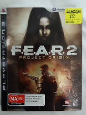 PLAYSTATION 3 GAME - PS3 - FEAR 2 PROJECT ORIGIN- F.E.A.R - EXCELLENT CONDITION