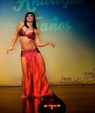Beautiful Professional Belly Dance Costume PLUS DVD