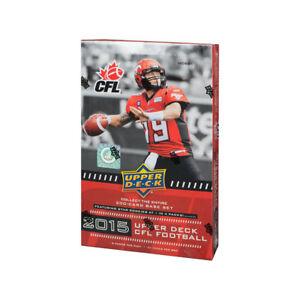 2015 Upper Deck CFL Football Hobby 16 Box Case