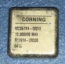 Used Corning Mc867x4 002w 10mhz Ocxo Crystal Oscillator 12v Sinewave Efc