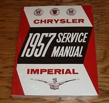 1957 Chrysler & Imperial Shop Service Manual 57 Body Chassis