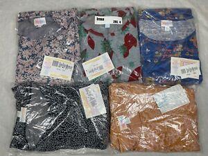 5 LuLaRoe Irma Tunic Shirt Top Size 2XL 4