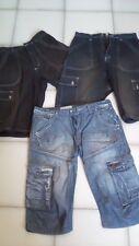 3 bermuda pantaloni corti pinocchietto jeans uomo (2 x-cape-Justboy)